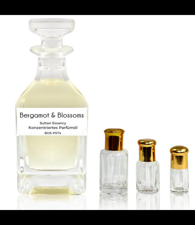 Sultan Essancy Parfümöl Bergamot & Blossoms - Attar Parfüm ohne Alkohol