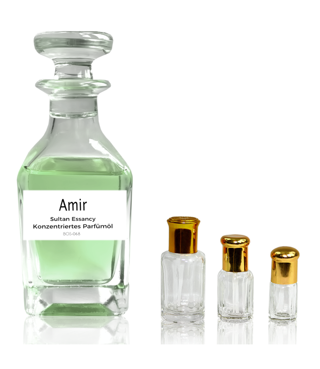 Sultan Essancy Parfümöl Amir - Attar Parfüm ohne Alkohol