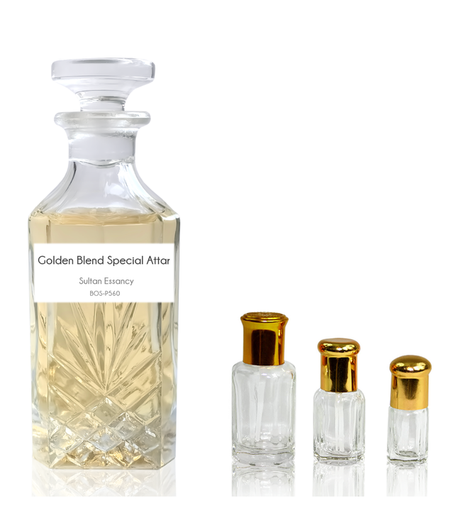 Sultan Essancy Concentrated perfume oil Golden Blend Special Attar - Perfume free from alcohol