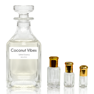 Sultan Essancy Perfume oil Coconut Vibes Sultan Essancy