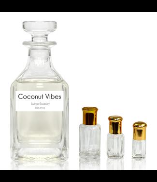 Sultan Essancy Perfume oil Coconut Vibes Sultan Essancy