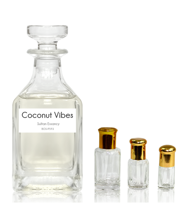 Sultan Essancy Concentrated perfume oil Coconut Vibes - Perfume free from alcohol