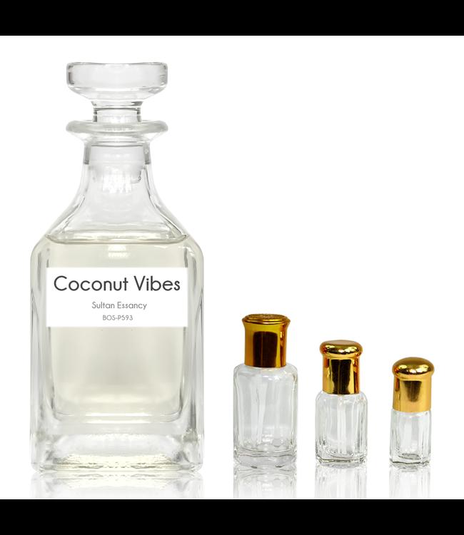 Sultan Essancy Parfümöl Coconut Vibes - Parfüm ohne Alkohol