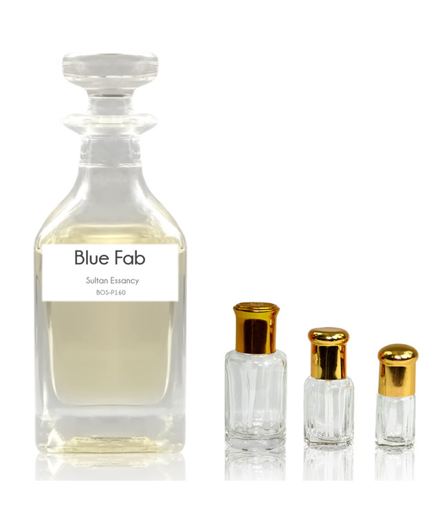 Sultan Essancy Concentrated perfume oil Blue Fab - Perfume free from alcohol