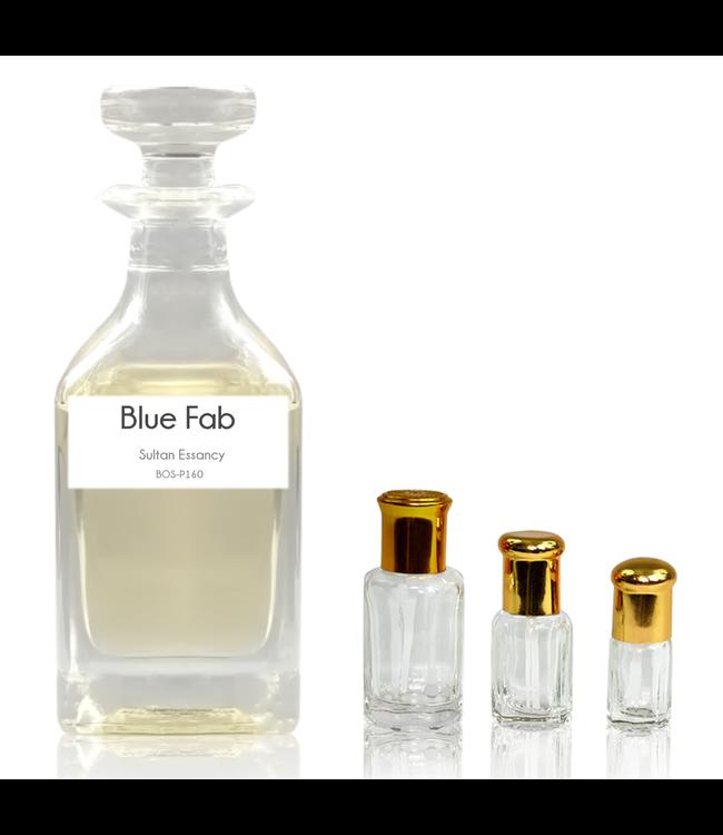 Sultan Essancy Parfümöl Blue Fab - Attar Parfüm ohne Alkohol