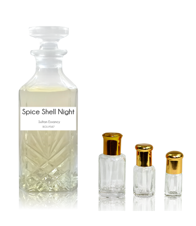 Sultan Essancy Concentrated perfume oil Spice Shell Night - Perfume free from alcohol