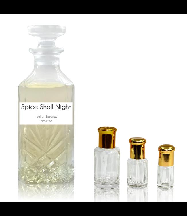 Sultan Essancy Parfümöl Spice Shell Night - Attar Parfüm ohne Alkohol