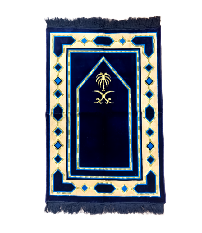 Prayer Mat Seccade in Dark Blue