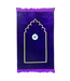Prayer Mat with Compass - Purple