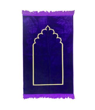 Prayer rug seccade - Purple