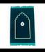 Prayer Mat with Compass - Dark Green