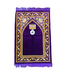 Gebetsteppich mit Kompass - Violett