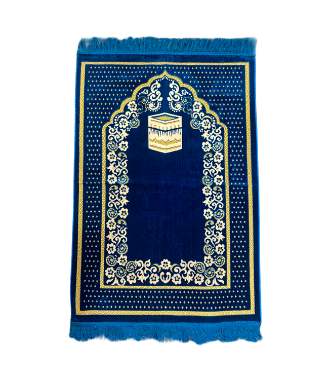 Prayer rug seccade - Blue