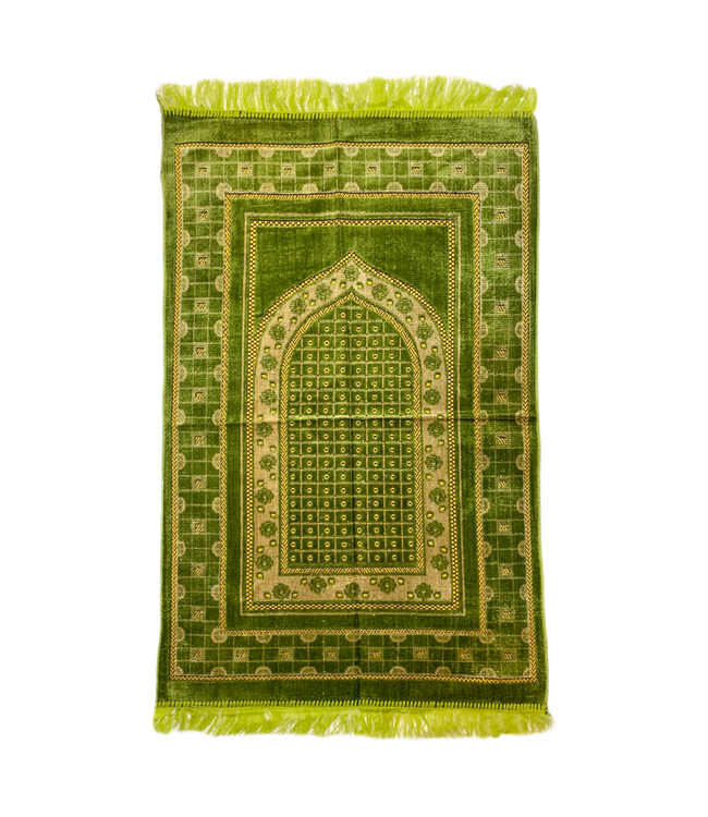 Prayer rug seccade - Green