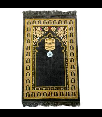Prayer Mat with Compass - Grey