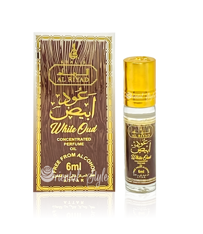 Khalis Parfümöl White Oud 6ml - Parfümöl ohne Alkohol