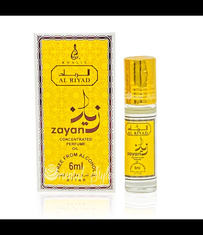 Khalis Perfume Oil Zayan Concentrated 6ml
