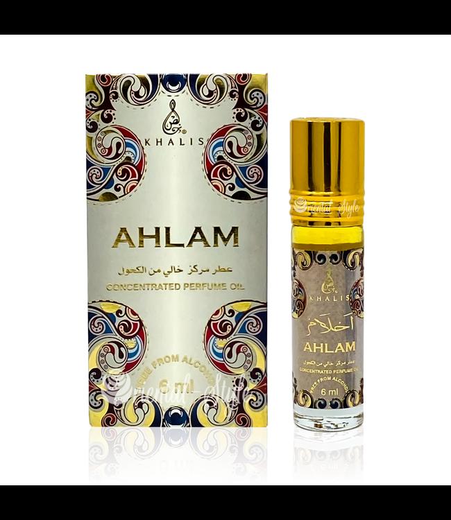 Khalis Parfümöl Ahlam 6ml - Parfümöl ohne Alkohol