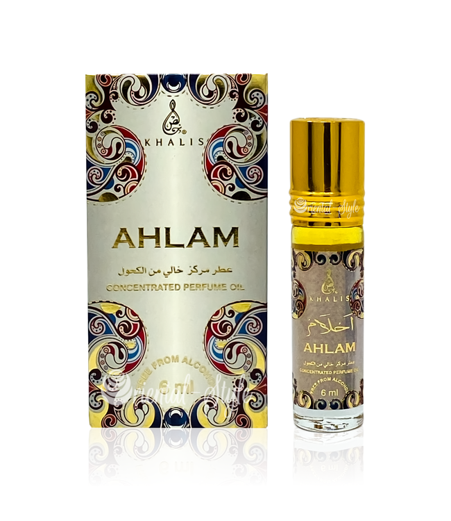 Khalis Perfume Oil Ahlam Concentrated 6ml