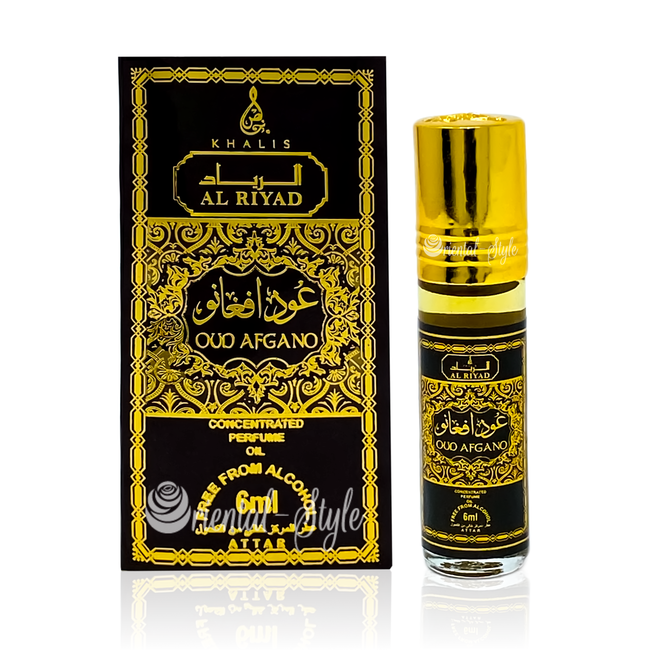Parfümöl Oud Afgano von Khalis