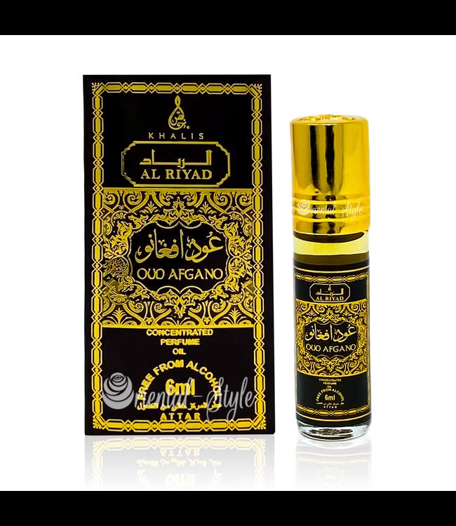 Khalis Parfümöl Oud Afgano 6ml - Parfümöl ohne Alkohol