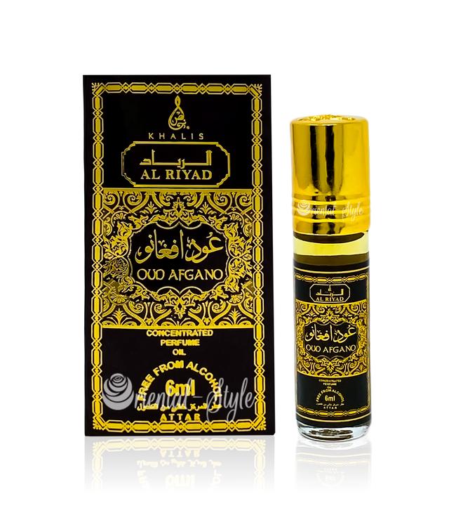 Khalis Perfume Oil Oud Afgano Concentrated 6ml