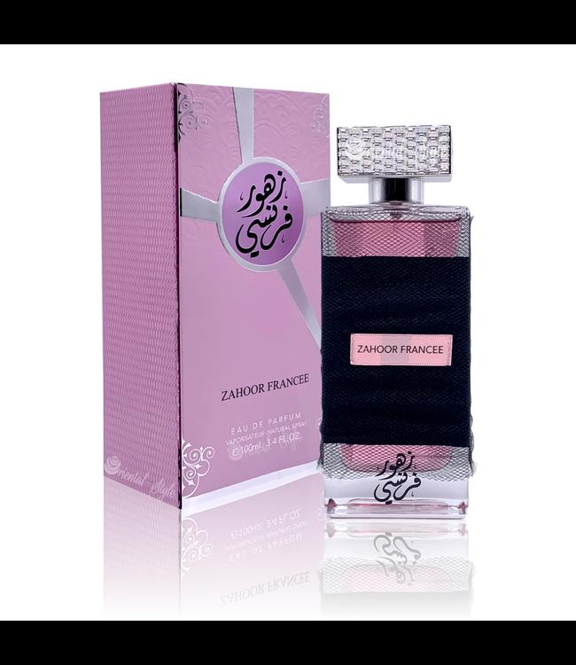 Ard Al Zaafaran Perfumes  Zahoor Francee Eau de Parfum 100ml Ard Al Zaafaran Perfume Spray