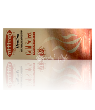 Nitiraj Premium Incense Sticks Nitiraj Gold Select Healing (20g)