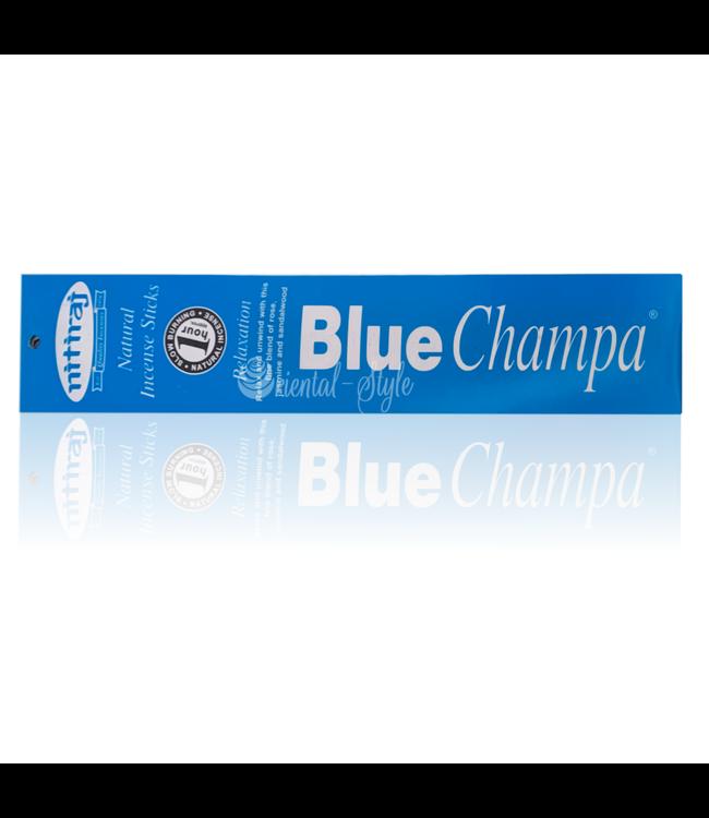 Nitiraj Premium Räucherstäbchen Blue Champa Relaxation (10g)
