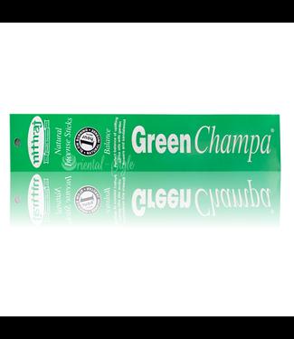 Nitiraj Premium Räucherstäbchen Green Champa Balance (10g)