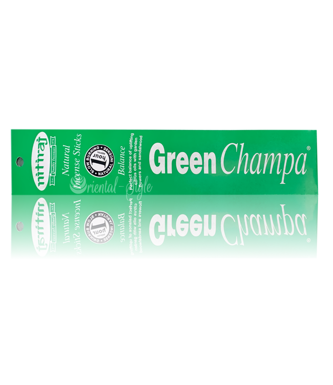 Nitiraj Premium Incense sticks Green Champa Balance (10g)