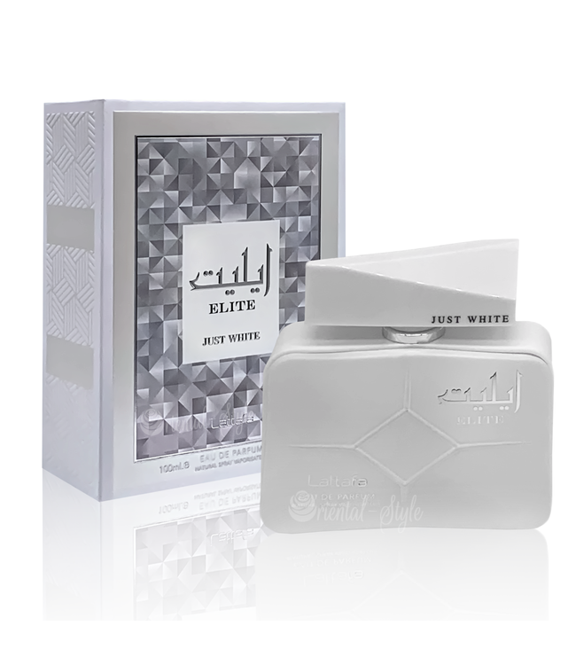 Lattafa Perfumes Elite Just White Eau de Parfum 100ml by Lattafa Perfume Spray