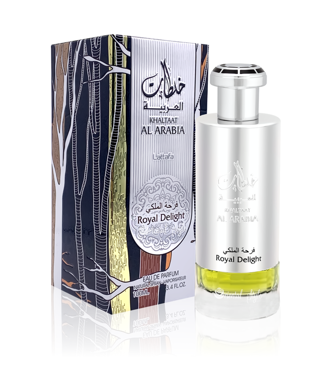 Lattafa Perfumes Khaltaat Al Arabia Royal Delight Lattafa Eau de Parfum 100ml