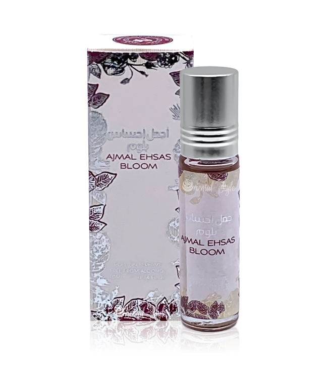 Ard Al Zaafaran Perfumes  Concentrated perfume oil Ajmal Ehsas Bloom 10ml - Perfume free from alcohol