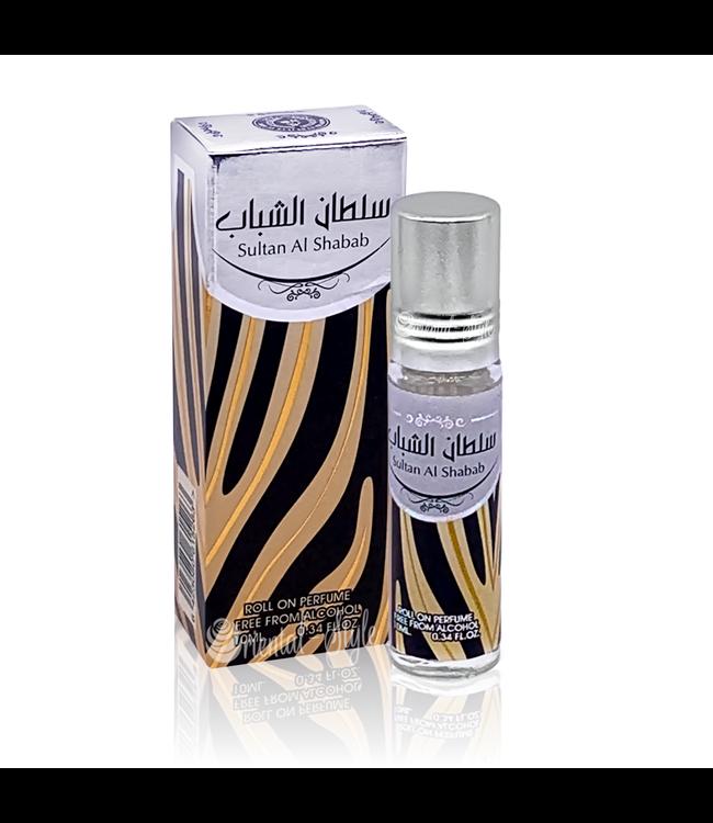 Ard Al Zaafaran Perfumes  Concentrated perfume oil Sultan Al Shabab 10ml - Perfume free from alcohol