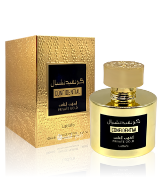 Lattafa Perfumes Confidential Private Gold Lattafa Eau de Parfum 100ml