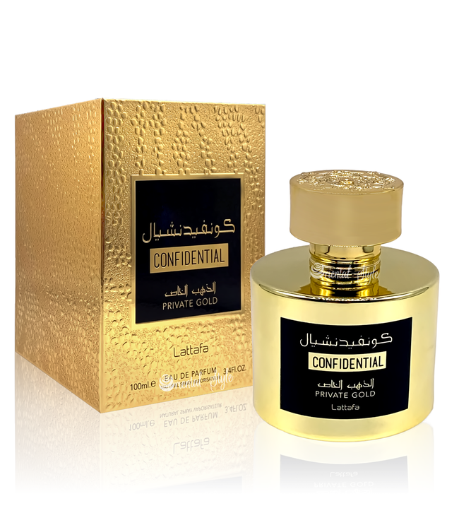 Lattafa Perfumes Confidential Private Gold Eau de Parfum 100ml