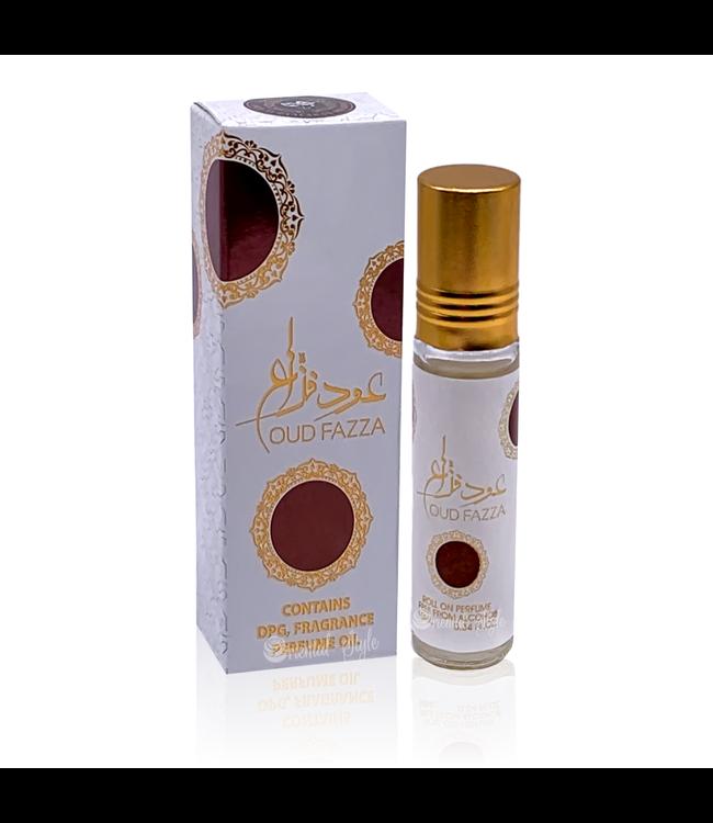 Ard Al Zaafaran Perfumes  Concentrated perfume oil Oud Fazza 10ml - Perfume free from alcohol