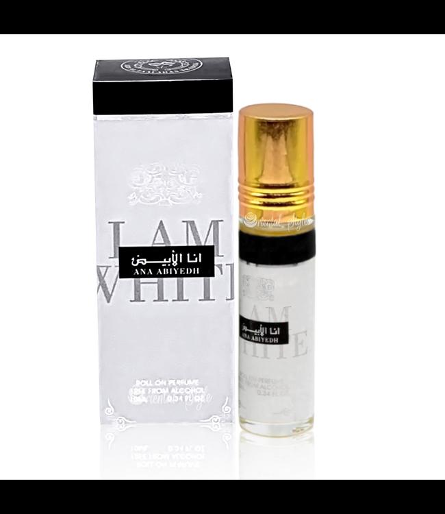 Ard Al Zaafaran Perfumes  Concentrated perfume oil Ana Abiyedh I Am White 10ml - Perfume free from alcohol