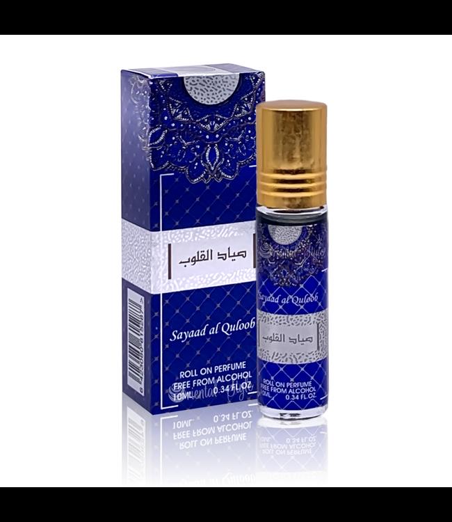 Ard Al Zaafaran Perfumes  Concentrated perfume oil Sayaad Al Quloob 10ml - Perfume free from alcohol
