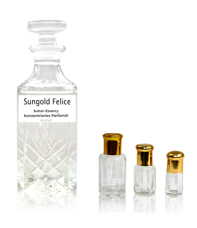 Sultan Essancy Concentrated perfume oil Sungold Felice - Perfume free from alcohol