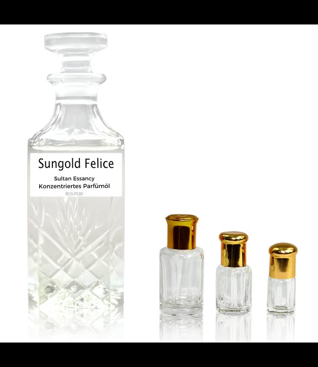 Sultan Essancy Perfume oil Sungold Felice Sultan Essancy