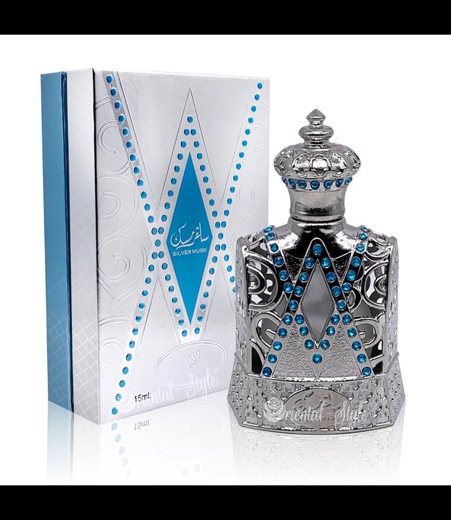 Afnan Parfümöl Silver Musk von Afnan 15ml Attar Parfüm