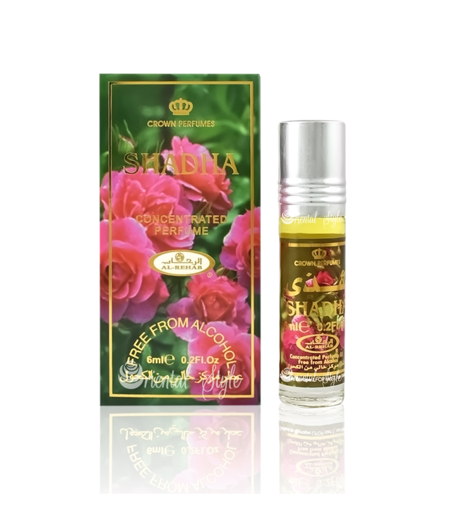Al Rehab  Concentrated Perfume Oil Shadha by Al Rehab - Free from alcohol 6ml
