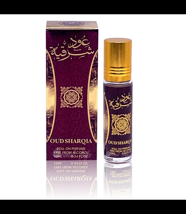 Ard Al Zaafaran Perfumes  Concentrated perfume oil Oud Sharqia 10ml - Perfume free from alcohol