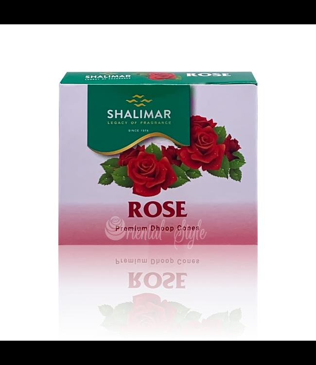 Shalimar Incense cones Rosebud scent Shalimar (10 piece)