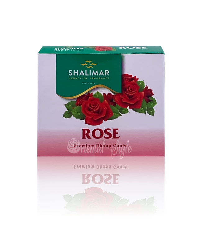 Shalimar Räucherkegel Rosenblüten Shalimar (10 Stück)
