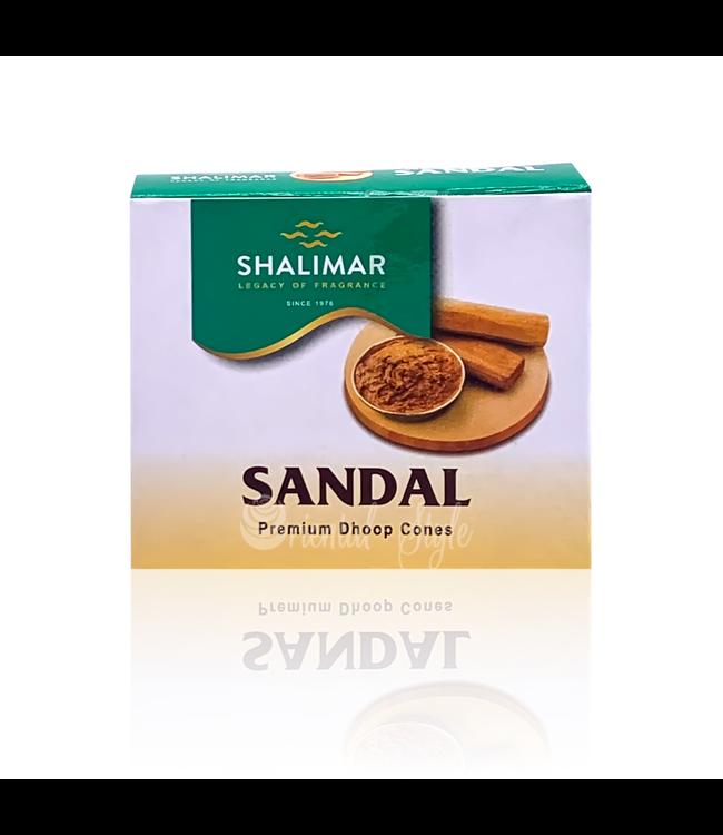 Shalimar Incense Dhoop Cones Sandal Shalimar (10 piece)