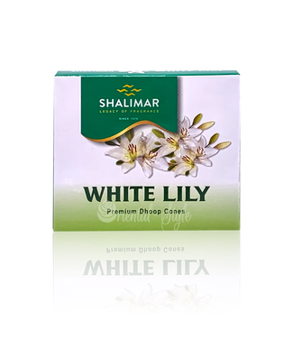 Shalimar Incense cones White Lily Shalimar (10 pieces)