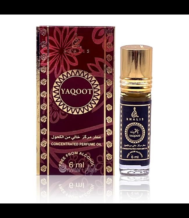 Khalis Parfümöl Yaqoot 6ml - Parfümöl ohne Alkohol